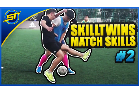 SkillTwins In Real Game Football Match Skills #2 ★ Tricks ...