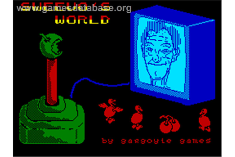 Sweevo's World - Sinclair ZX Spectrum - Games Database