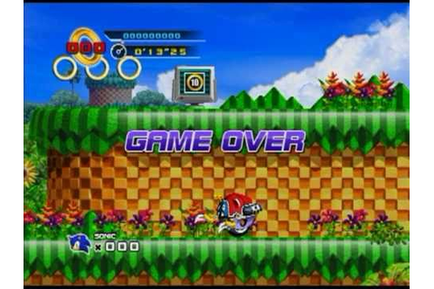 Game Over: Sonic the Hedgehog 4 - Episode 1 - YouTube