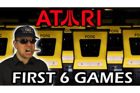 First Atari Arcade Games (History of Video Games pt 3 ...