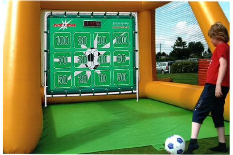 Football or Soccer simulators and games for hire | SP Events