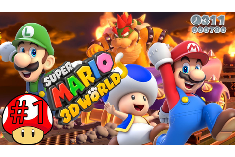 ABM: Super Mario 3D World (Walkthrough # 1) HD - YouTube