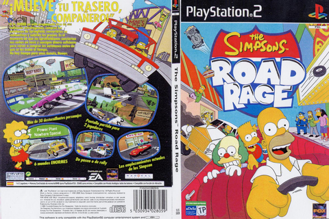 Los Simpsons Road Rage [MEGA][PS2][USA][ISO] - Identi