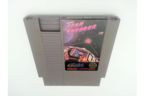 Star Voyager game for Nintendo NES - Loose - TheGameGuy.ca
