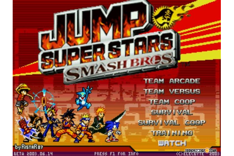 Jump Super Stars Smash Bros - Download - DBZGames.org