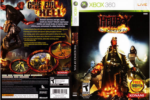 Download Game Hellboy - The Science OF Evil PSP Full ...
