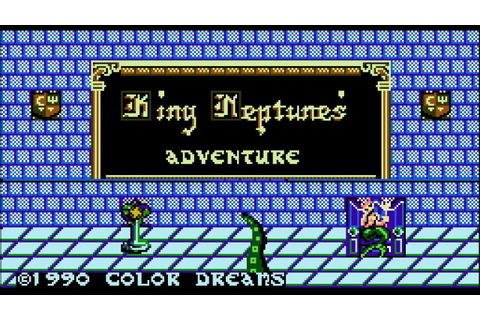 King Neptune's Adventure - NES Gameplay - YouTube