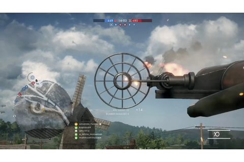 Battlefield 1 AA Gun - Anti Aircraft Gameplay - YouTube