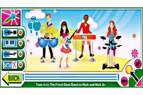 Mega Music Game with The Fresh Beat Band - YouTube