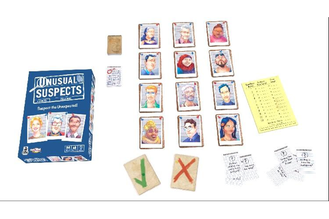 Amazon.com: Unusual Suspects Board Game: Toys & Games