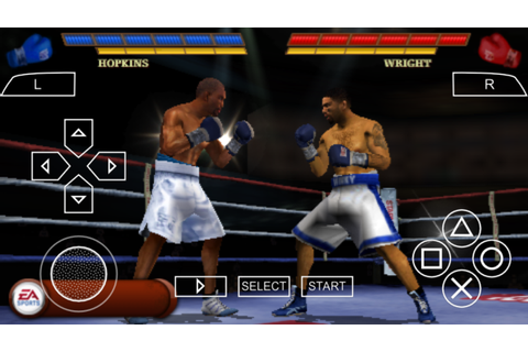 Fight Night Round 3 PSP ISO Free Download & PPSSPP Setting ...