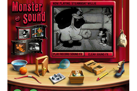 { design toolbox } » GAME: Disney Monster Sound