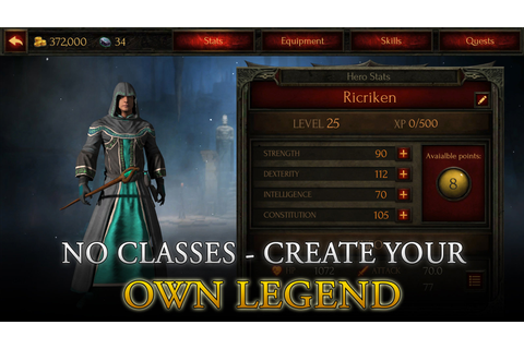 Arcane Quest Legends - FREE Offline Hack & Slash RPG ...