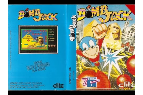Bomb Jack 1984 Arcade Game All Levels - YouTube