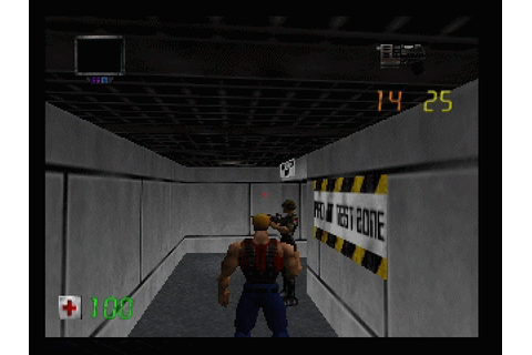 Duke Nukem: Zero Hour (1999) by Eurocom N64 game