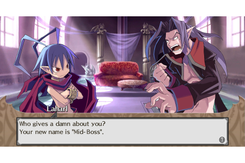 Laharl from Disgaea – Game Art