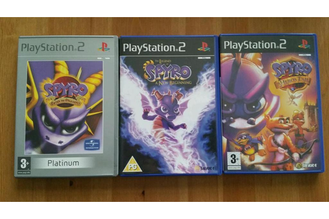 Spyro the Dragon Enter the Dragonfly, A New Beginning and ...