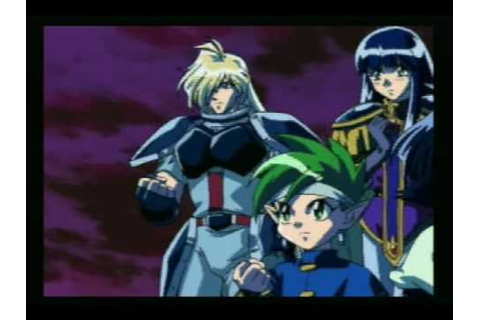 Slayers Royal 2 - Sega Saturn Opening - YouTube