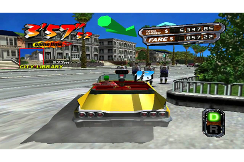 Crazy Taxi 3 Free Download ~ PC Games Free Download