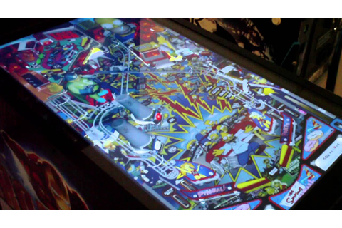 Virtual Pinball Machine Arcade Game Ultimate SuperPin Mid ...