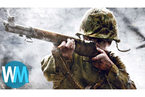 Top 10 Best World War II Games - YouTube
