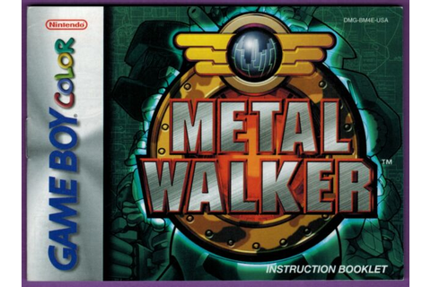 Metal Walker (Nintendo Game Boy Color, 2001) for sale ...