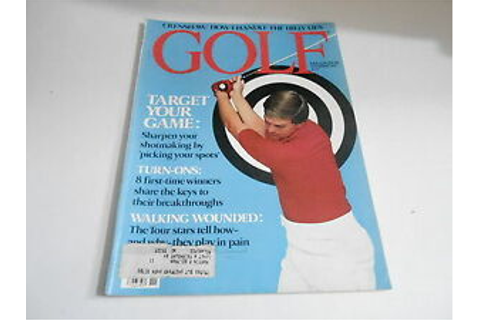 NOV 1980 GOLF - vintage magazine - TARGET YOUR GAME | eBay
