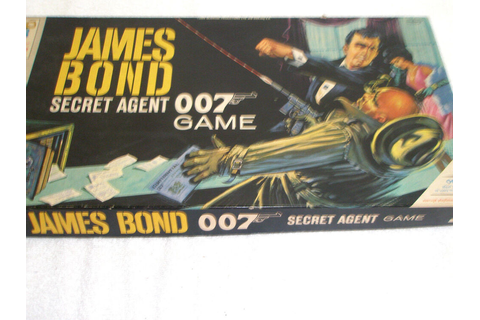 Vintage 1964 James Bond 007 Board Game #4527 Milton ...