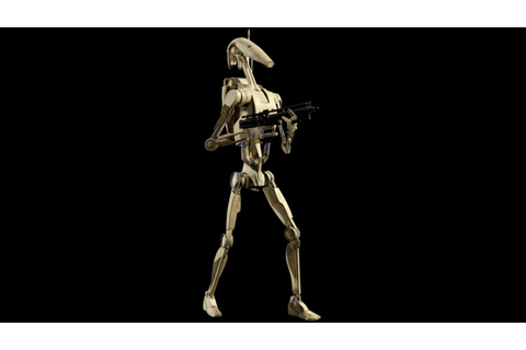Star Wars Episode III video game - Battle Droid voice ...