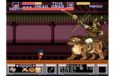 Legend of the Mystical Ninja, The (USA) ROM