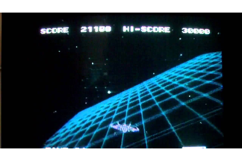 1983 Sega Astron Belt Msx Palcom Laserdisc Game Gameplay ...