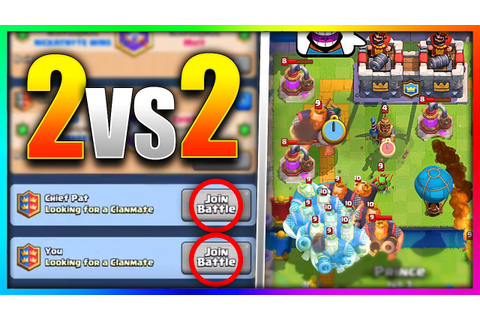HOW TO PLAY TEAM BATTLES in Clash Royale! (NEW UPDATE ...