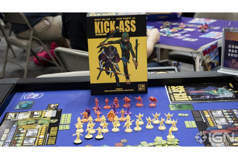 Kick-Ass: The Board Game Makes Even the Boring Parts of ...