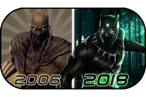 EVOLUTION of Black Panther in Games (2006-2018) black ...
