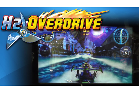 H2Overdrive Boat Racing - Arcade Video Game - YouTube