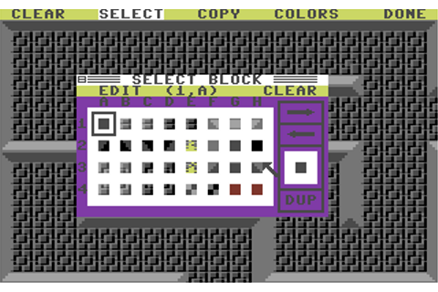 Arcade Game Construction Kit Screenshots for Commodore 64 ...