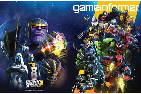 Game Informer Unveils 'MARVEL ULTIMATE ALLIANCE 3: The ...