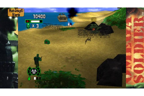 Vamos a Jugar: Army Men Omega Soldier (PSX) - YouTube