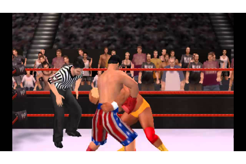 ROCKY BALBOA VS HULK HOGAN PSP GAME - YouTube