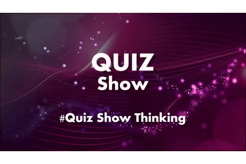 TOP QUIZ GAME SHOW - Thinking Music - Ratemusik - YouTube