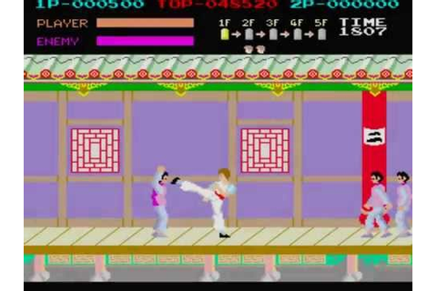 Kung Fu Master Arcade Full BGM Music BSO OST - YouTube