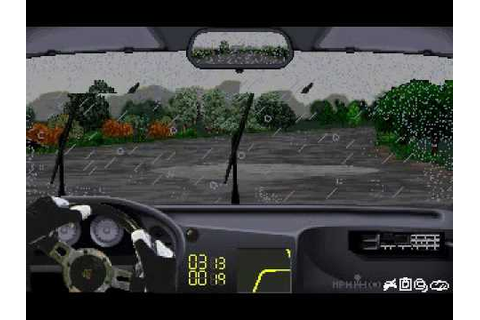 Network Q RAC Rally game by Europress 1993 - YouTube