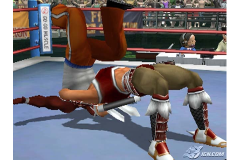 Galactic Wrestling: Featuring Ultimate Muscle screenshots