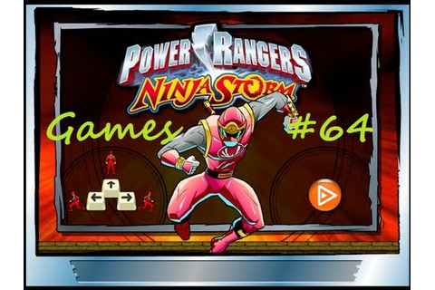 Games: Power Rangers Ninja Storm - YouTube