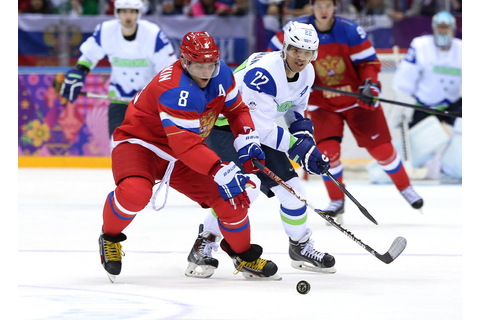 In U.S.-Russia Hockey Game, Cold War Shifts to the Ice ...