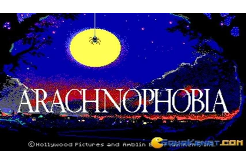 Arachnophobia gameplay (PC Game, 1991) - YouTube