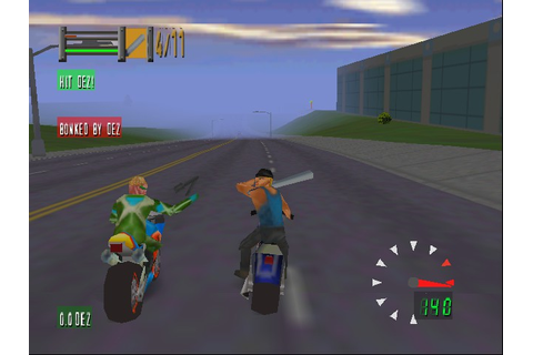 Road Rash 64 (Nintendo 64) ~ BlogMalandr0