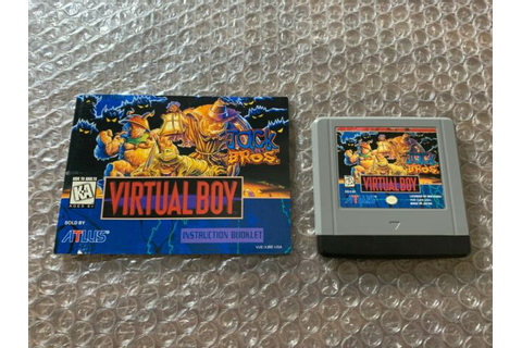Jack Bros. (Nintendo Virtual Boy, 1995) for sale online | eBay