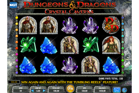 Dungeons And Dragons Crystal Caverns » FreeSlot Online ...