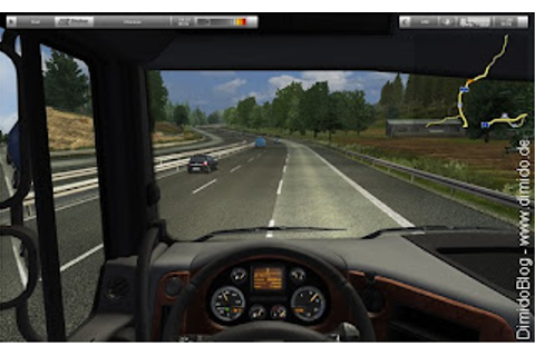 Highly Compressed German Truck Simulator PC Game Mediafire ...